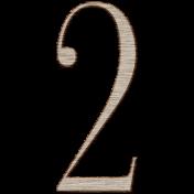 Winter Day Alphas- 2- Wood Serif
