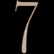 Winter Day Alphas- 7- Wood Serif