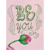 Renewal- Journal Cards Kit- Be You- 3x4