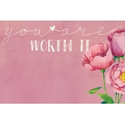 Renewal- Journal Cards Kit- Worth It- 6x4