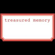 Treasured- Minikit- WA- Label