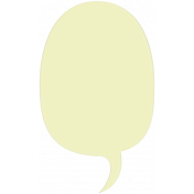 New Day- Elements- Vellum Balloon Yellow