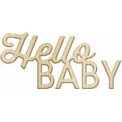 New Day- Elements- Wordart Hello Baby