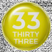 New Day- Brads 52 Weeks- Yellow- Brad 33
