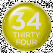 New Day- Brads 52 Weeks- Yellow- Brad 34