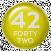 New Day- Brads 52 Weeks- Yellow- Brad 42