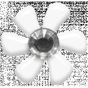 Fresh- Elements- Tiny Flower- White