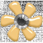 Fresh- Elements- Tiny Flower- Yellow