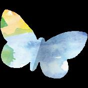 Butterflies- Butterfly 06- Folded