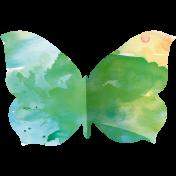 Butterflies- Butterfly 10- Folded