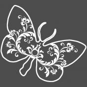 Butterflies- Butterfly 11- Filigrain
