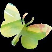 Butterflies- Butterfly 11- Folded