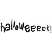 Halloweeeek! Minikit- Word Art- Halloweeeek!