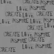 Templates- Mixed Media- Love, Create, Inspire