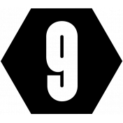 Bits and Bobs 2- Templates- Hexagon- 9