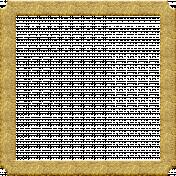 Mixed Media 3- Elements- Gold Frame
