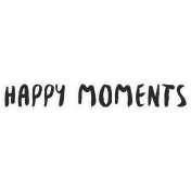 Good Life April- Minikit- Word Art- Happy Moments