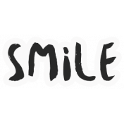 Good Life April- Minikit- Word Art- Smile