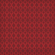 Gothical- Papers- Paper 01- Red Damask