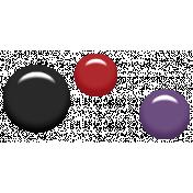 Gothical- Elements- Enamel Dots