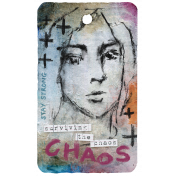 Mixed Media 4- Elements- Label Chaos