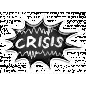Mixed Media 4- Elements- Crisis