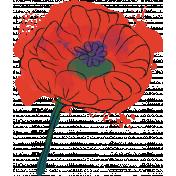 Mixed Media 5 - Elements - Poppy Stamp