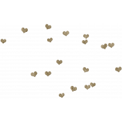Our House- Wood Hearts Scatter
