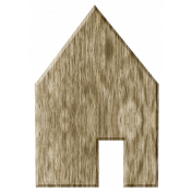Our House- Wooden House