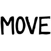 Our House- Move Word Art