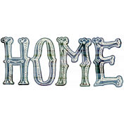 Our House- Home Word Art 4