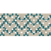 Winter Arabesque- Arabesque Dots Ribbon