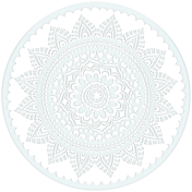 Winter Arabesque- Icy Floral Crystal 2