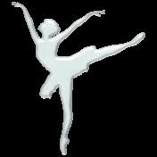 Winter Arabesque- Crystal Ballerina 2