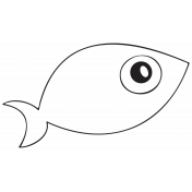 Cartoon Fish Template