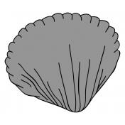Shell Sticker Template