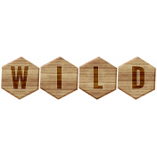 Animal Kingdom- Wild Block Letters