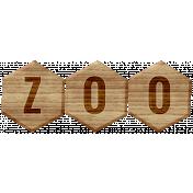 Animal Kingdom- Zoo Word Art
