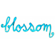 Reflections Mini Kit- Blossom Word Art