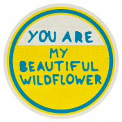 Reflections Mini Kit- My Beautiful Wildflower Word Art