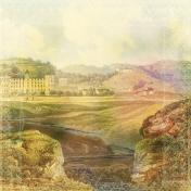 Jane- Scenic Castle Paper