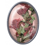 Jane- Elements- Oval Brad with Dried Flowers