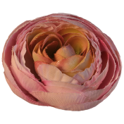 Jane- Pink Fabric Rose