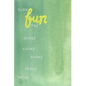 Good Day- Fun Journal Card