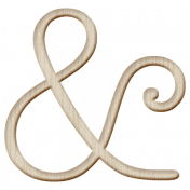 Good Day- Wood Ampersand