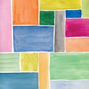 Good Day- Papers- Painted Rectangles