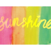 Good Day- Journal Cards- Sunshine