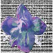 England- Flower Stamps- Larkspur