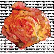 England- Flower Stamps- Rose