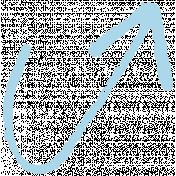 XY- Marker Doodles- Baby Blue Arrow 1